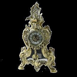 """Бронзовые часы с маятником """"Золотой Вавилон"""""""