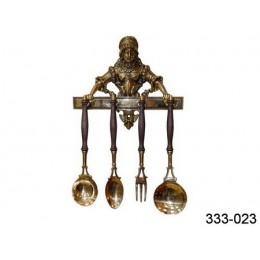 """Набор столовых принадлежностей Stilars """"Шеф-повар"""" h.53 см"""