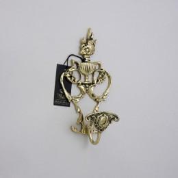 """Вешалка для одежды Belo de Bronze """"Хемос"""" (полир. бронза) h.22см"""