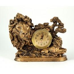 """Интерьерные часы """"Африканские львы"""""""