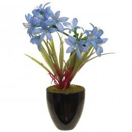 """Искусственный цветок """"Голубое небо"""""""