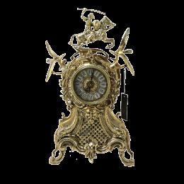 """Каминные часы из бронзы """"Всадник"""""""