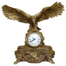 """Каминные часы """"Орёл с добычей Гранд"""""""
