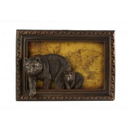 "Картина ""Бурые медведи"""