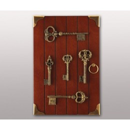 "Декоративная настенная ключница ""Old keys"""