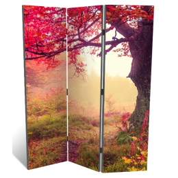 """Декоративная 3-х створчатая ширма """"Красочная осень"""", дл.135см"""