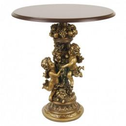 """Декоративная подставка-столик """"Ангелы с виноградом"""", выс.61см"""
