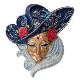 """Венецианская маска """"Красные розы"""""""