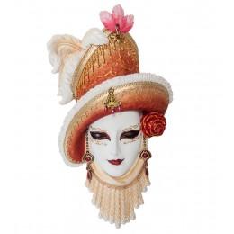 """Венецианская маска """"Леди в шляпе"""""""