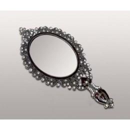 "Декоративное ручное зеркало ""Little heart"""