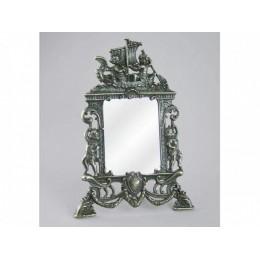 "Настольное зеркало Alberti Livio ""Элоиза"" (античная бронза) h.24см"