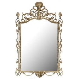 """Зеркало декоративное Belo de Bronze """"Грандола"""" (полир. бронза) h.95см"""
