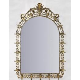 """Зеркало декоративное Belo de Bronze """"Капарика"""" (полир. бронза) h.122см"""