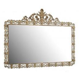 """Зеркало декоративное Belo de Bronze """"Масейра"""" (полир. бронза) h.83см"""