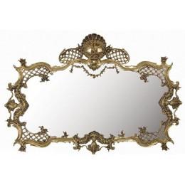 """Зеркало декоративное Belo de Bronze """"Вила-ду-Конди"""" (полир. бронза) h.75см"""