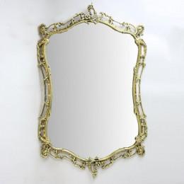 "Зеркало настенное Belo de Bronze ""Бикош"" (полир. бронза) h.86см"