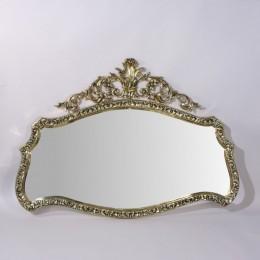 """Зеркало настенное Belo de Bronze """"Конша"""" (полир. бронза) h.77см"""