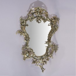 "Зеркало настенное Belo de Bronze ""Раме"" (полир. бронза) h.74см"