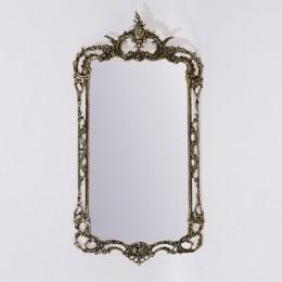 """Зеркало настенное Belo de Bronze """"Рэтта"""" (полир. бронза) h.79см"""