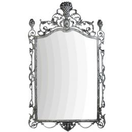 """Зеркало настенное """"Ешпига"""", бронза с покрытием серебро"""