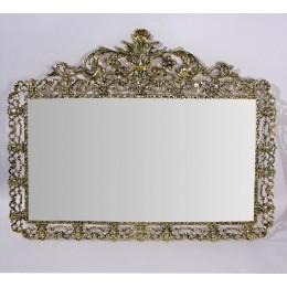 "Зеркало настенное из бронзы ""Дуэ Кватро Си"""