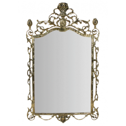 """Зеркало настенное из бронзы """"Ешпига"""""""