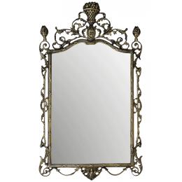 """Зеркало настенное из бронзы """"Ешпига"""", антик"""
