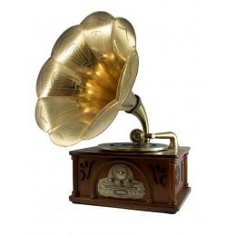 """Граммофон """"Мэрелин Монро"""" в стиле 30-60-х г."""