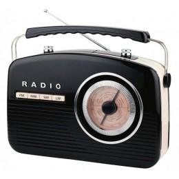 "Радиоприемник ретро Camry ""Budapest Black"""