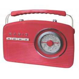 "Радиоприемник ретро Camry ""Budapest Red"""