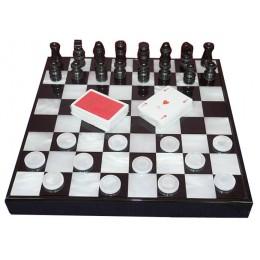 """Набор шахматы, шашки, карты Renzo Romagnoli """"Sempione Grande"""""""