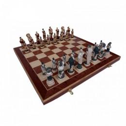 """Декоративные большие каменные шахматы """"Spartacus"""""""