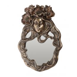 """Зеркало Veronese """"Цветок мака"""" (bronze)"""