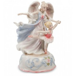 "Музыкальная статуэтка Pavone ""Ангел и балерина"""