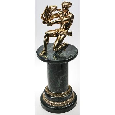 """Бронзовая статуэтка """"Прометей"""" выс.26,5см"""