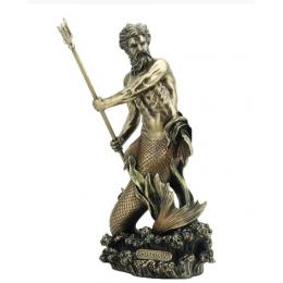 """Cтатуэтка Veronese """"Посейдон"""" 28см (bronze)"""