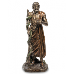 """Статуэтка Veronese """"Асклепий - бог медицины и врачевания"""" (bronze)"""