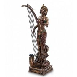 """Статуэтка Veronese """"Клеопатра с лирой"""" (bronze)"""
