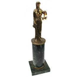 """Бронзовая статуэтка """"Фемида"""" выс.36см"""