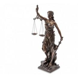 """Статуэтка Veronese """"Фемида - богиня правосудия"""" 74см (bronze)"""