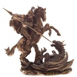 """Статуэтка Veronese """"Георгий Победоносец"""" (bronze)"""
