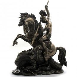 """Статуэтка Veronese """"Святой Георгий Победоносец"""" (bronze)"""
