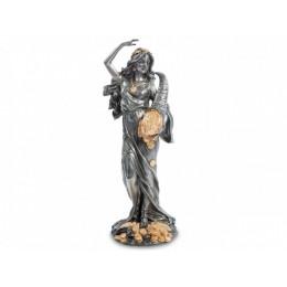 "Статуэтка Veronese ""Фортуна-богиня удачи"" (black/gold)"