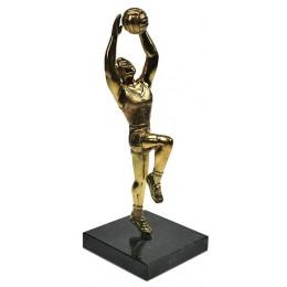 """Бронзовая статуэтка """"Волейболист"""" выс.17,5см"""