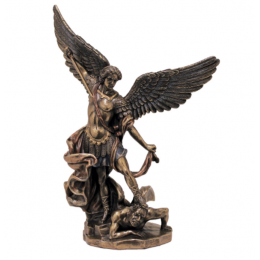 "Статуэтка Veronese ""Архангел Михаил"" 20см (bronze)"