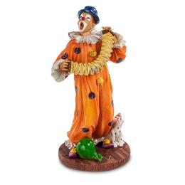 "Статуэтка Veronese ""Клоун с гармошкой"" (color)"