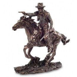 """Статуэтка Veronese """"Ковбой на коне"""" (bronze)"""