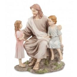 """Статуэтка Veronese """"Проповедь Иисуса"""" (color)"""