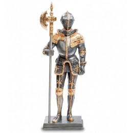 """Статуэтка Veronese """"Рыцарь в доспехах"""" (black/gold)"""