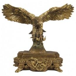 """Декоративная статуэтка """"Орёл с добычей"""", дл.47см"""